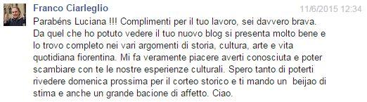 comentario Franco Ciarleglio