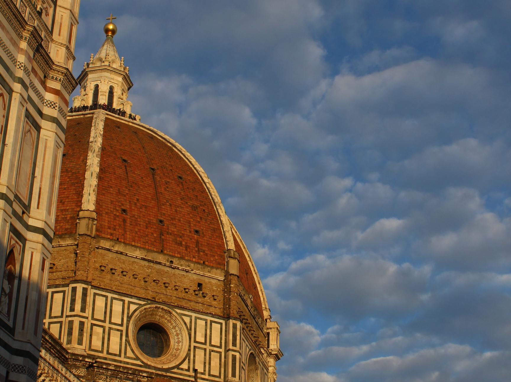 Os dois grandes arquitetos do Duomo de Florença