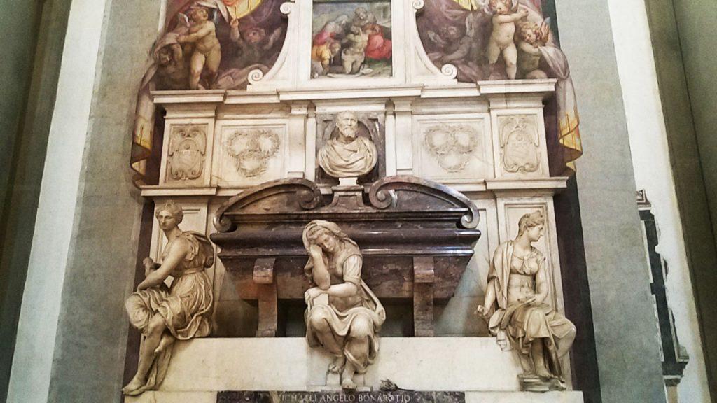 michelangelo santa croce